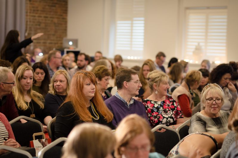 Audience at TEDx Tunbridge Wells